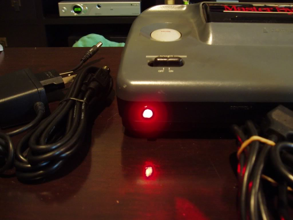 Sega Master System 50/60Hz switchless modification